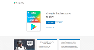 Google Play Store Giftcards