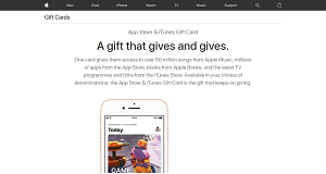 iTunes Giftcards