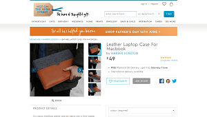 Leather Laptop Case For MacBook
