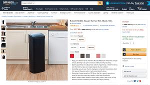 Russell Hobbs 50L Kitchen Sensor Bin