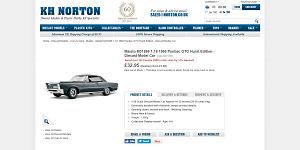 1965 Pontiac GTO Hurst Edition