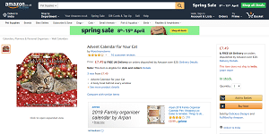 Advent Calendars For Dogs and Cats