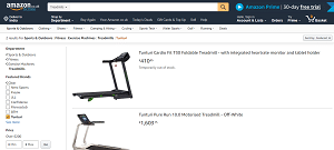 AmazonTunturi Run Treadmill