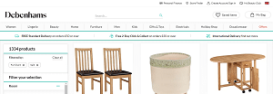 Debenhams Furniture