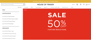House of Fraser Fashions