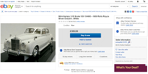 Rolls Royce Silver Cloud 2 1960