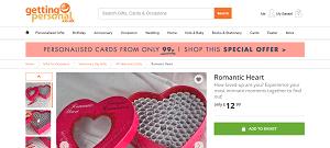 Romantic Heart Challenge Box