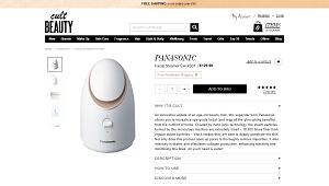 Panasonic Nano Facial Steamer