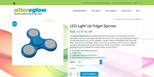 LED Light up Fidget Spinner