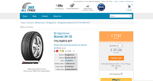 Bridgestone Blizzak LM-32