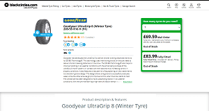 Goodyear Ultragrip 8