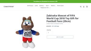 Stuffed Mascot