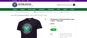 Wimbledon T-shirts