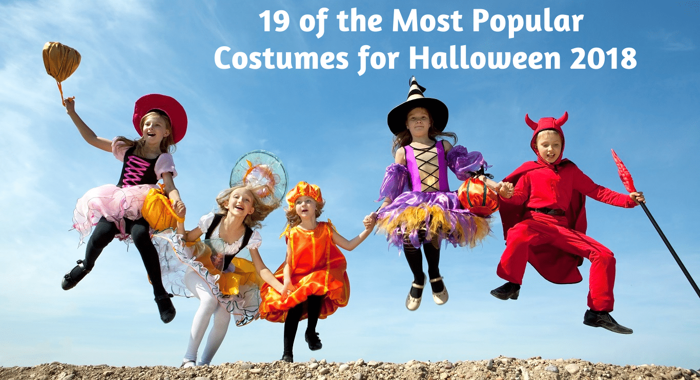 19 of the Most Popular Costumes for Halloween 2018