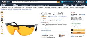 Uvex Skyper Blue Light Blocking Computer Glasses