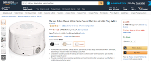 Marpac Dohn White Noise Machine