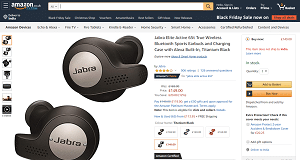 Jabra Earphones - Elite 65t