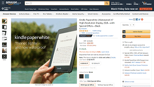 Kindle Paperwhite Waterproof