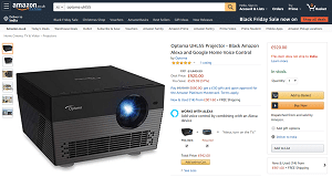 Optoma UHL55 True 4K HDR Projector