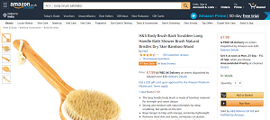 Body Brush Exfoliator