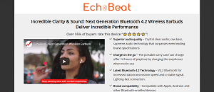 Echobeat earbuds