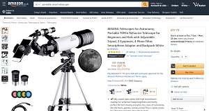 Portable Smart Telescope