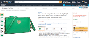 Green purse or wristlet