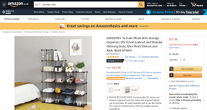 Snap together storage solutions