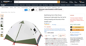 Small tent