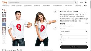 Coordinating shirts