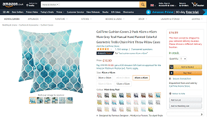 Throw pillowcovers
