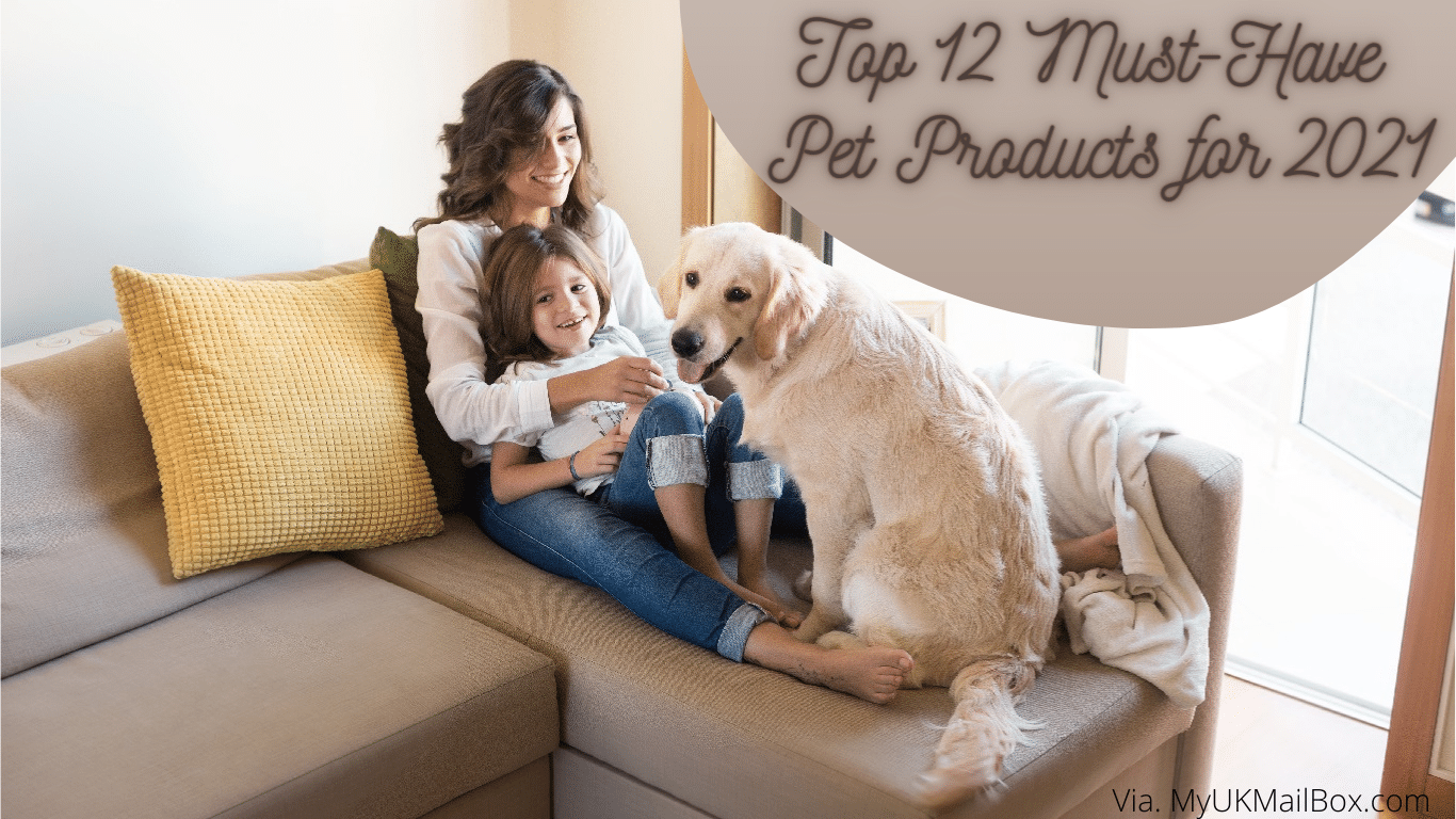 Top 12 Must-Have Pet Products for 2021