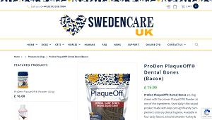 ProDen Plaque Off Bones – Natural Bacon Dental Chews
