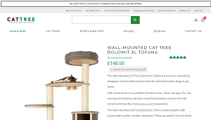 Wall-Mounted Cat Tree