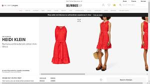 Shoulder-baring dress