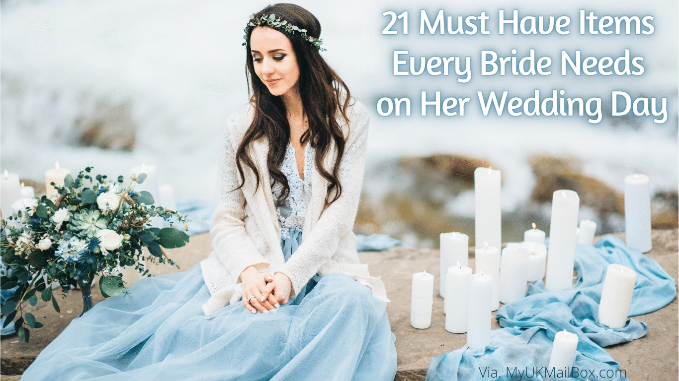 21 Must Have Items Every Bride Needs on Her Wedding Day
