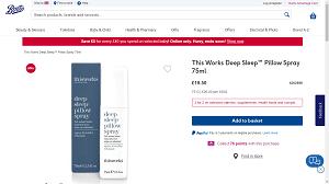 Deep sleep pillows spray