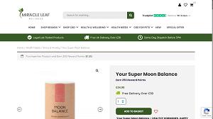 Moon balance super foods